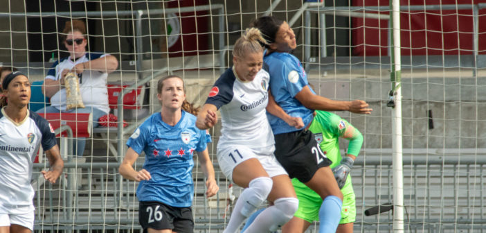 Red Stars Defeat Courage Before Record Crowd
