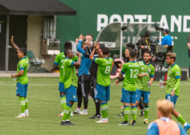 Seattle Sounders Edge Portland Timbers 2-1 in Cascadia Cup Rivalry at Providence Park