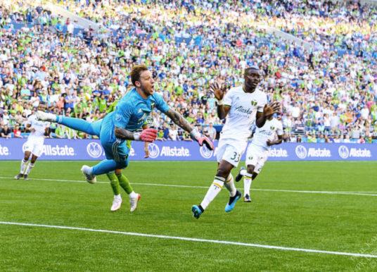 Portland Timbers defender Larrys Mabiala on MLS Team of the Week
